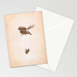 The Bird and the Bee Stationery Cards