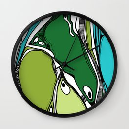 Green dive plongeon vers Wall Clock