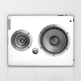 Subwoofer Speaker on white Laptop & iPad Skin