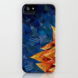Star Bloom Collage iPhone Case