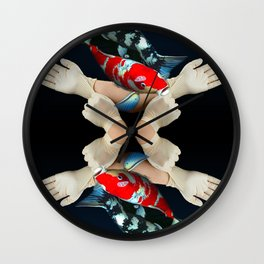 Fin up Wall Clock