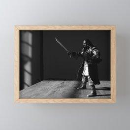 Blackbeard the Pirate Framed Mini Art Print