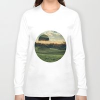jelly fish Long Sleeve T-shirts featuring Jelly Fish Fields by Kevin Richetelli