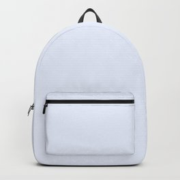 Christmas Icicle Ice Blue Backpack