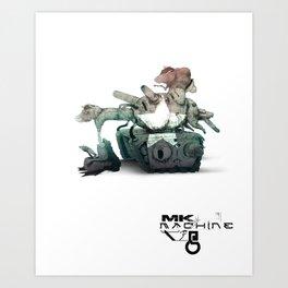 Mk Tank Art Print