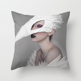 birdgirl Throw Pillow