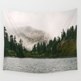 The Forest Lake Wall Tapestry