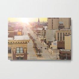 City Sun Metal Print