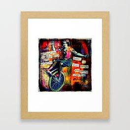 Motivation Framed Art Print
