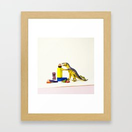 I've come for your cupcakes Framed Art Print