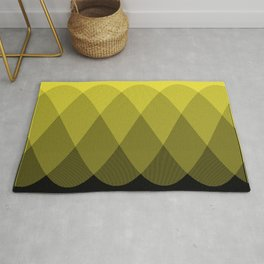 Yellow Ombre Signal Rug