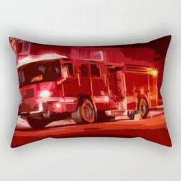 Fire Truck Rectangular Pillow