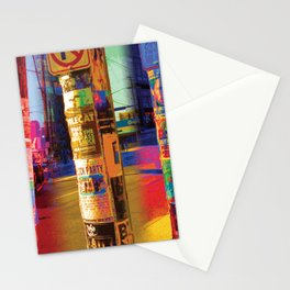Post No Bills Stationery Cards