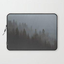 Foggy Trees Laptop Sleeve