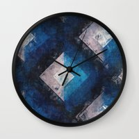 the xx Wall Clocks featuring XX by Diego Tirigall