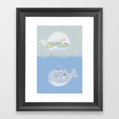 Fantastic Fish Framed Art Print