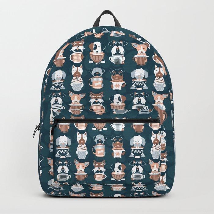 Doggie Coffee and Tea Time II Backpack