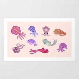 Squids Kunstdrucke