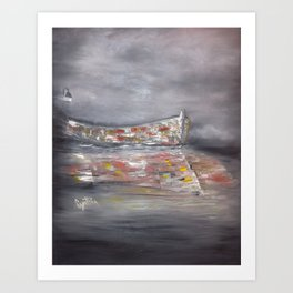 It's a Boat Art Print