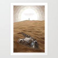 """transformer Art Prints featuring """"I think we just found a Transformer"""" by s2lart"""