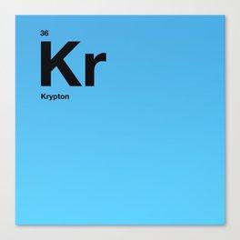 Krypton Canvas Print