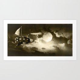 Dream Drifters II Art Print