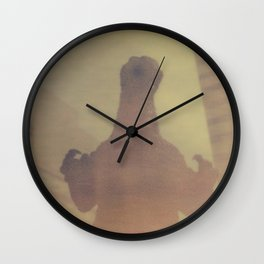 Irradiated Monster Wall Clock
