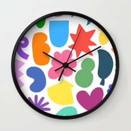 Colour Fun Wall Clock