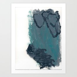 Cold Waters 2 Art Print