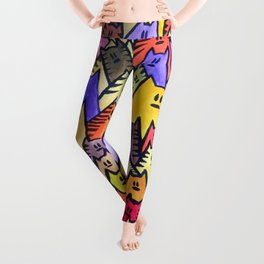 Cats 07 Leggings