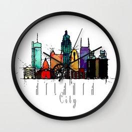 Atlanta city Wall Clock