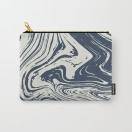 Marbled, Abstract Ocean Carry-All Pouch