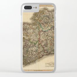 Map of Ireland 1799 Clear iPhone Case