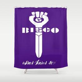Gonzo Bisco Shower Curtain