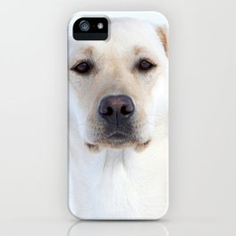 White Beauty | Weisse Schönheit iPhone Case