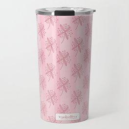 Flower doodle Travel Mug
