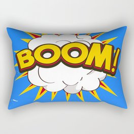 BOOM! limited edition Blue edition Rectangular Pillow