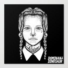 Addams Canvas Print