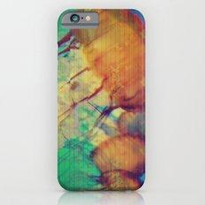 aquatic waveform iPhone 6s Slim Case