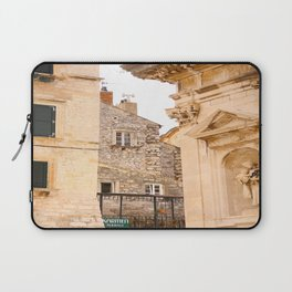 Terrace in Old Town Europe #decor #society6 Laptop Sleeve