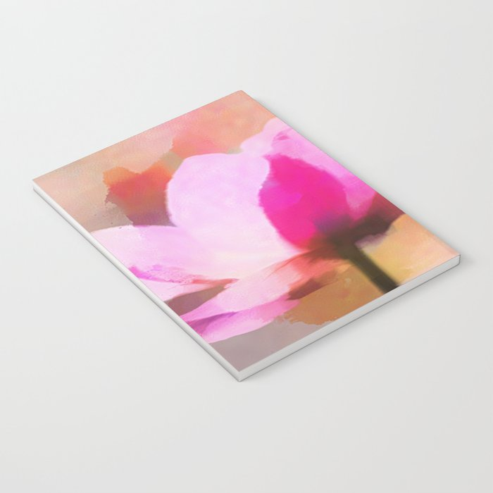 Anemone abstract hand painted Notebook