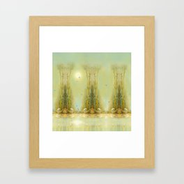 Bamboo Dream Framed Art Print