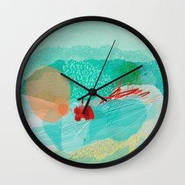 Expressionnism - April Wall Clock