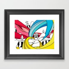 STELLARCREATURES Framed Art Print