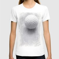 golf T-shirts featuring GOLF by Yilan