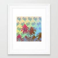 california Framed Art Prints featuring CALIFORNIA by DIVIDUS DESIGN STUDIO