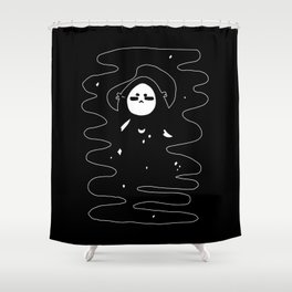 ▴ mask ▴ Shower Curtain