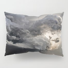 Fist of Fury - Storm Packs a Punch Over Oklahoma Plains Pillow Sham
