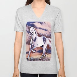 The American Paint Horse Unisex V-Neck