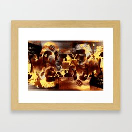 Dennis Hopper Framed Art Print